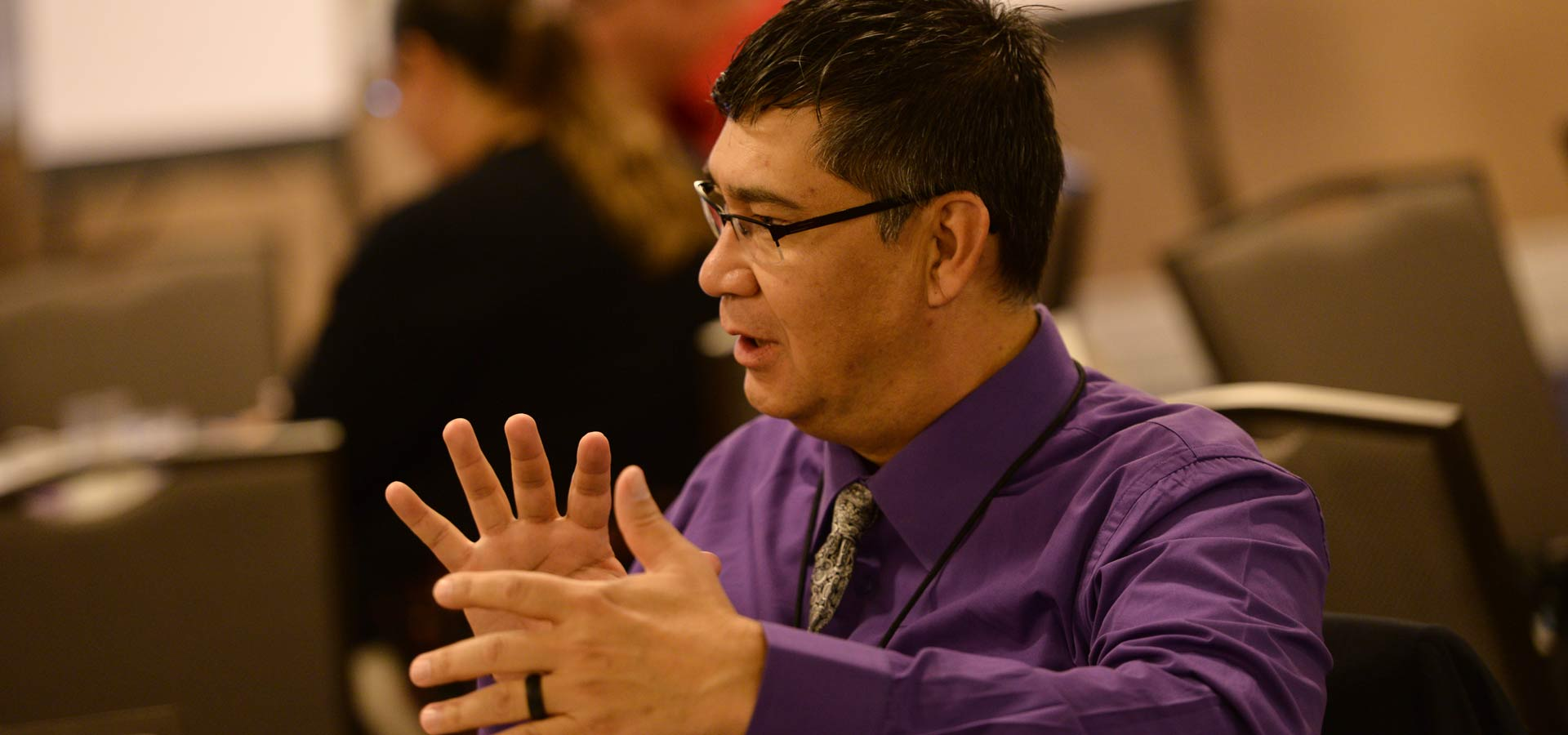 Ted Piccolo of Northwest Native Development Fund the 2019 Oweesta Convening