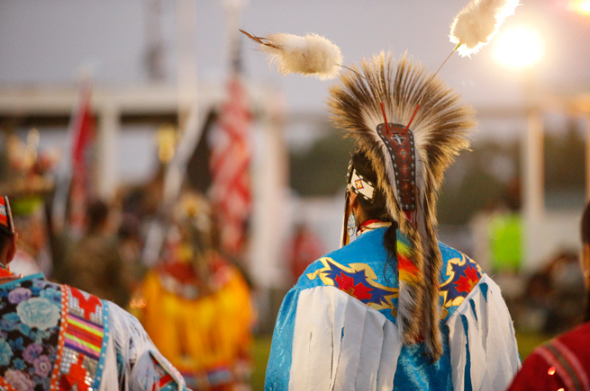 Powwow in Eagle Butte, South Dakota
