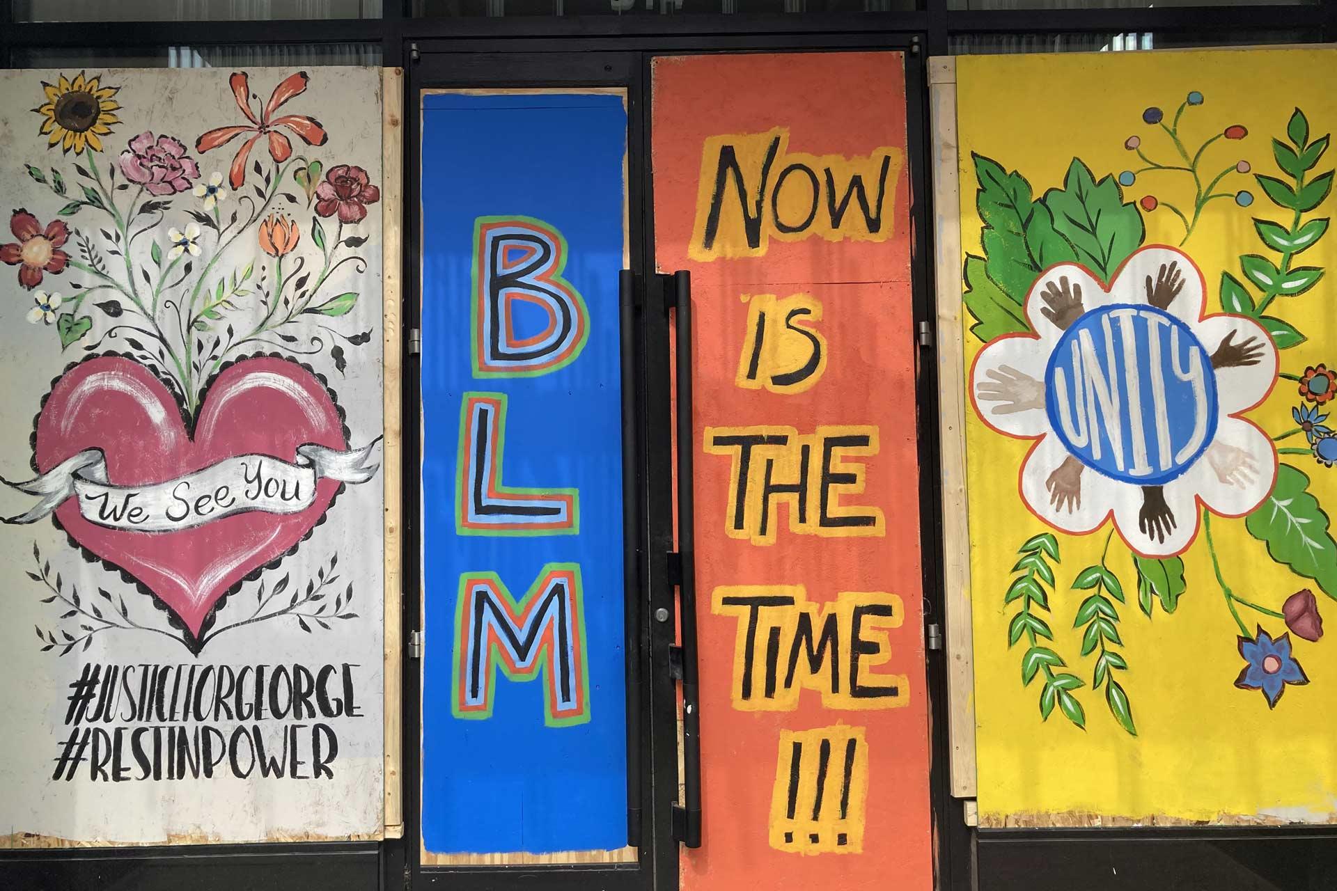 BLM graffiti
