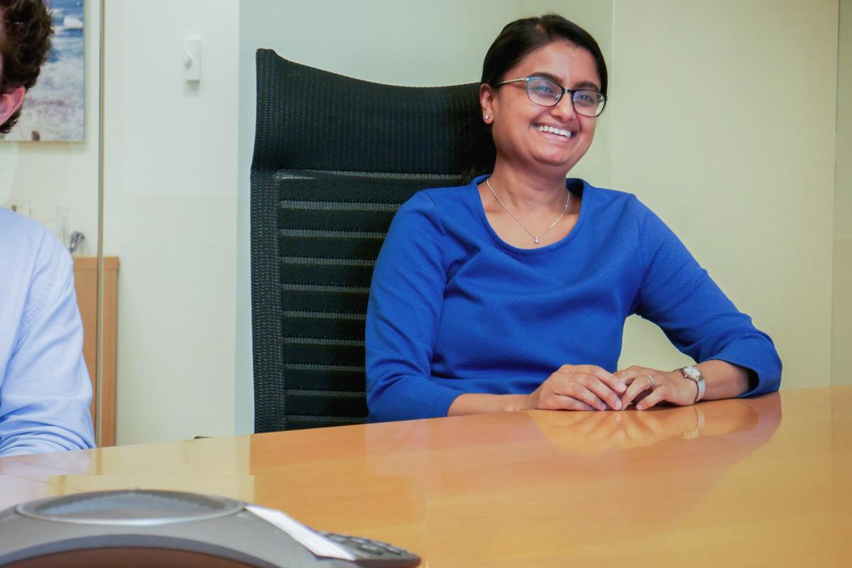 Bhairvee Shavdia, HCAP Investment Team member